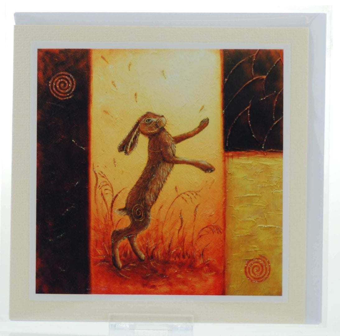 Dance of the Hares Card