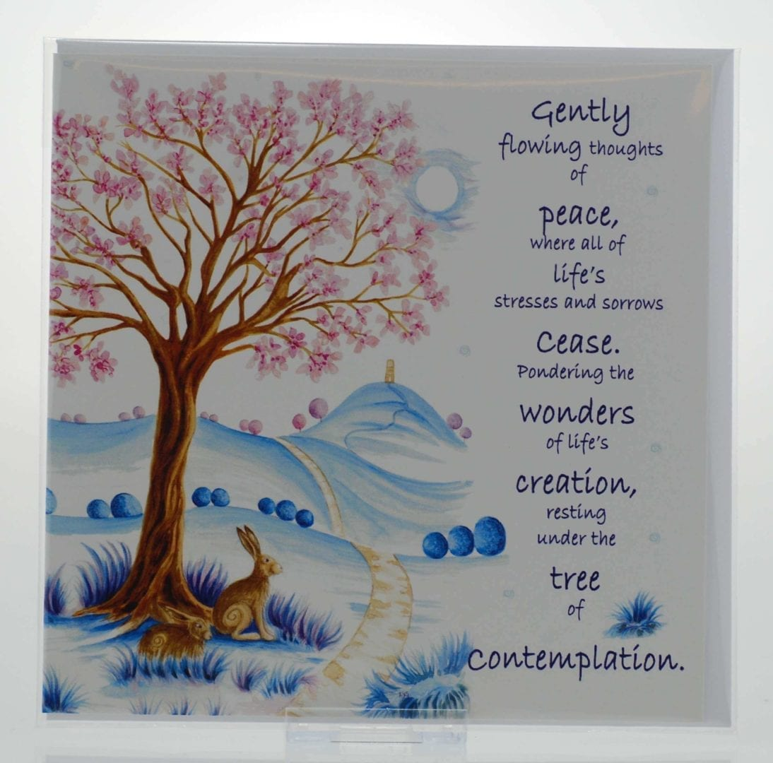 Contemplation Card