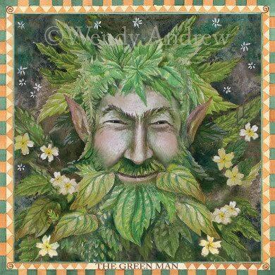 For The Love of The Green Man Card