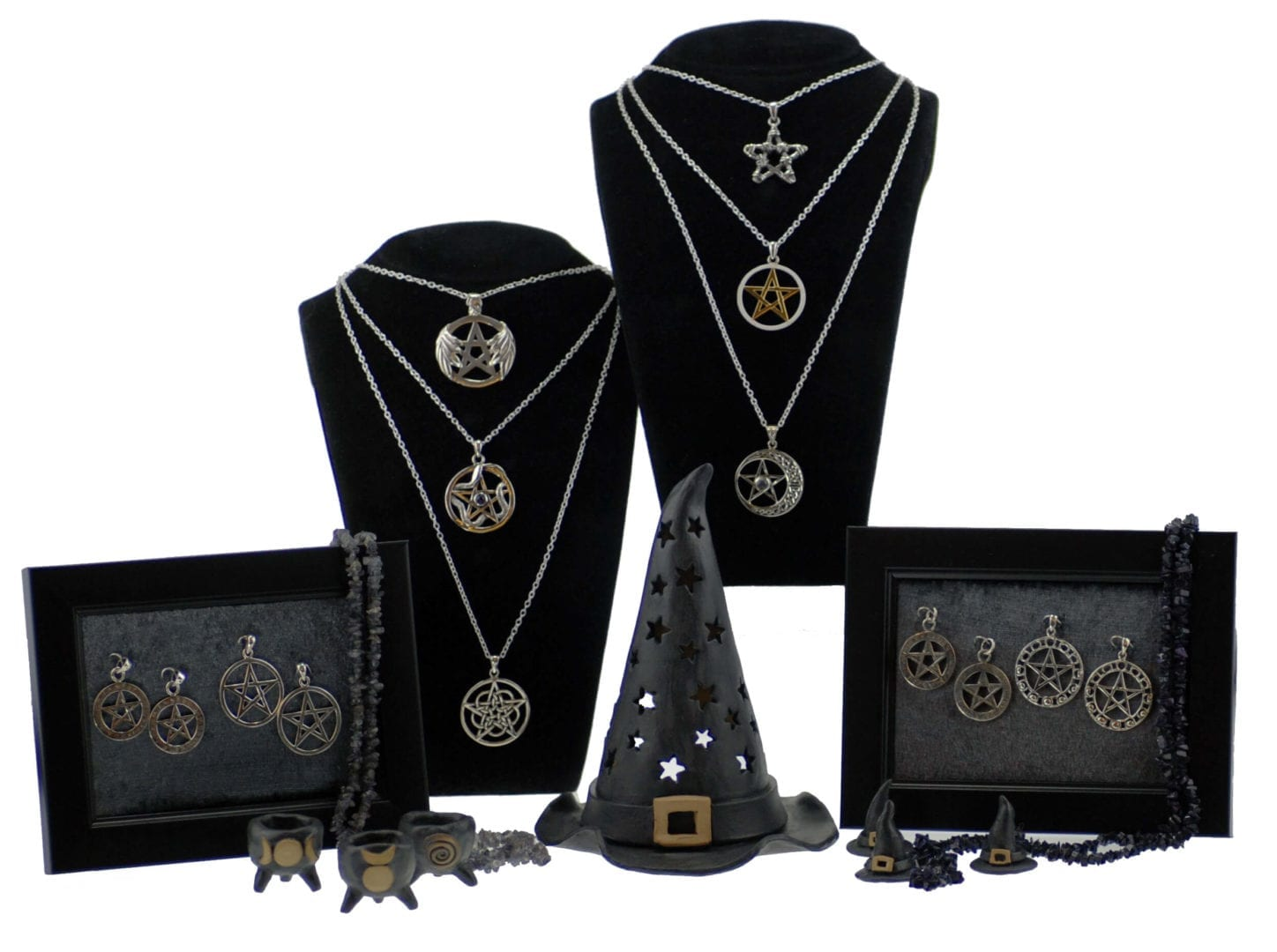 Happy Glastonbury - Jewellery - Pentagram Collection