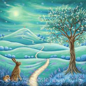 Under the Sacred Tree Magnet