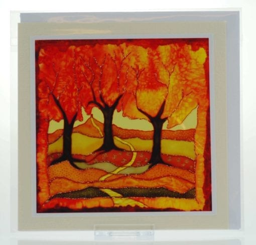 Autumn Gold Card