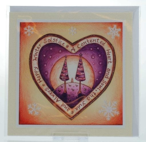 Contented Heart Card