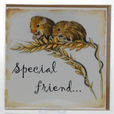Special Friend (Mice) Card