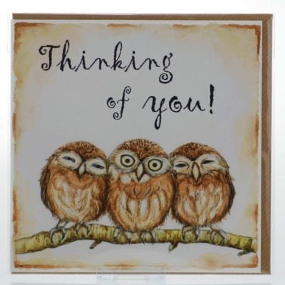 Thinking of You (Owls) Card