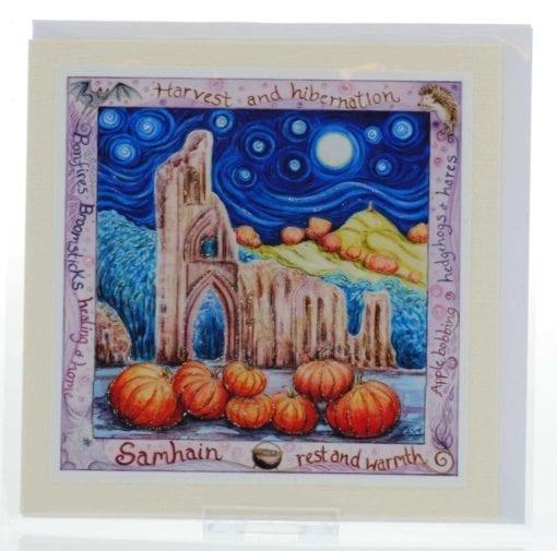 Bonfires & Broomsticks Card