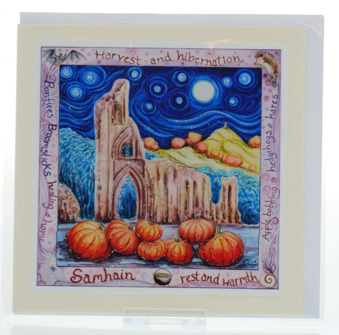 Bonfires & Broomsticks Card