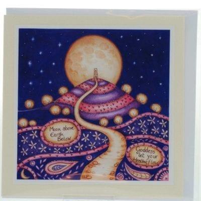 Healing Goddess Card