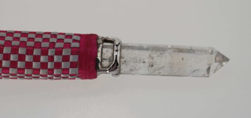 Hand Crafted Wand - Pink & White