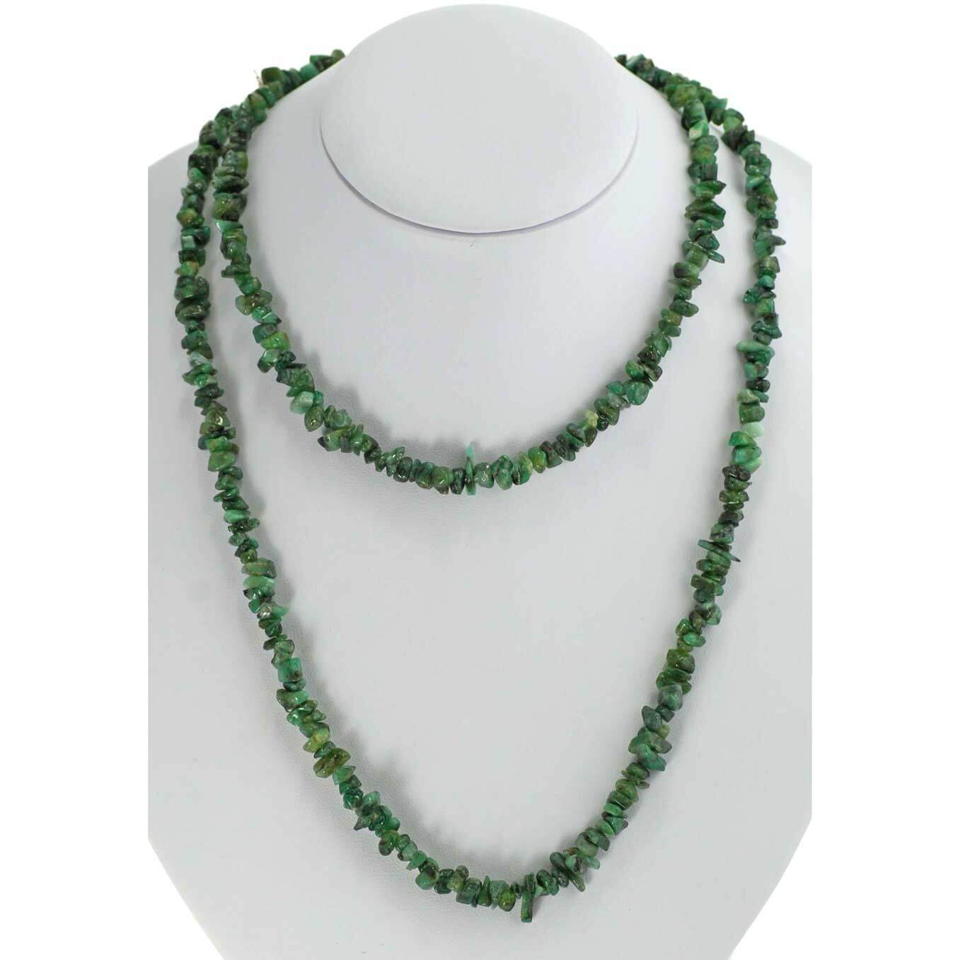 Emerald Chipped Necklace