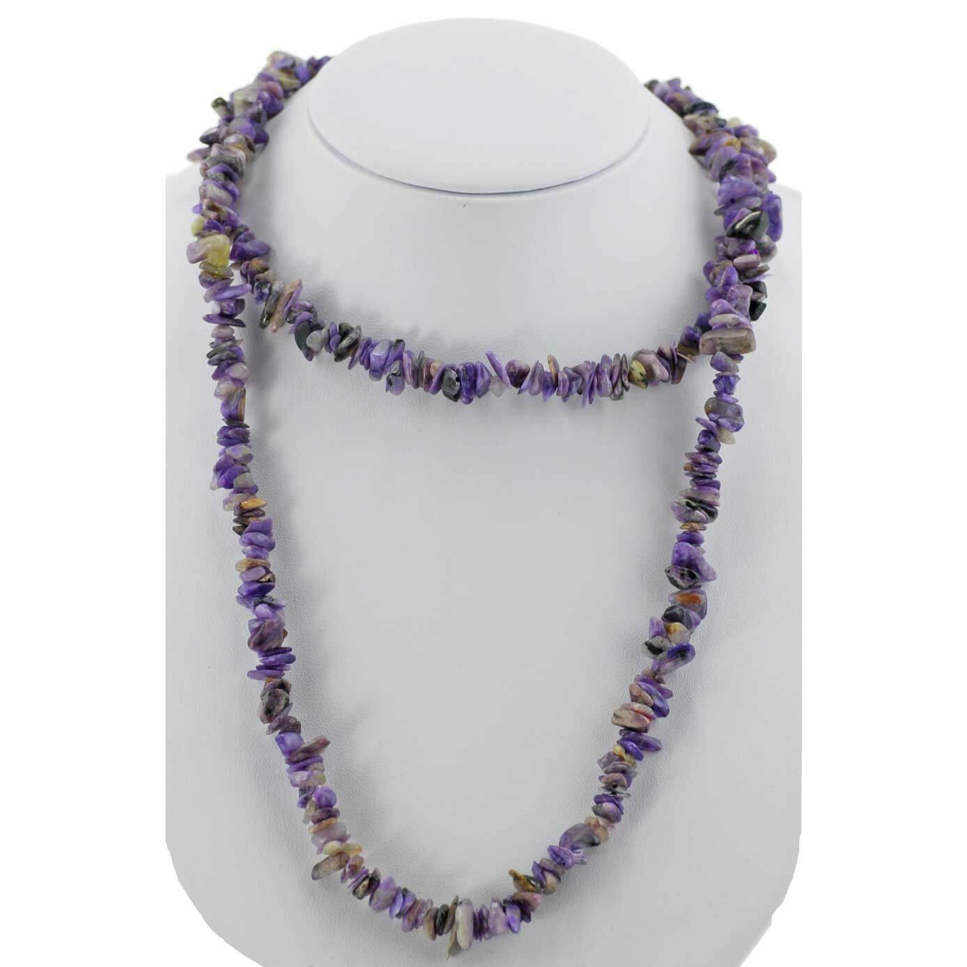 Charoite Chipped Necklace