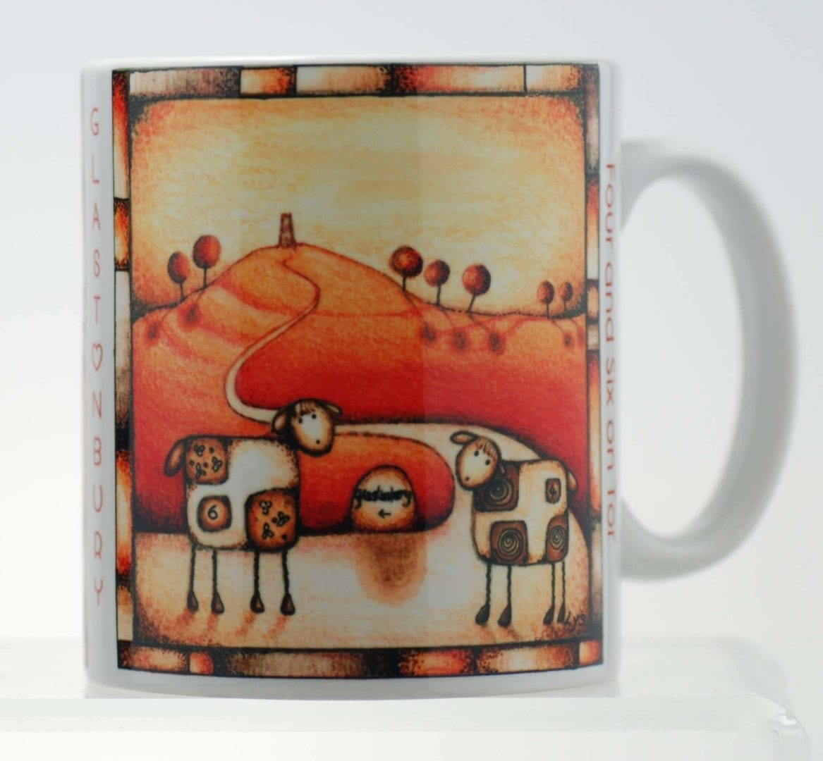 Four & Six on Tor Mug