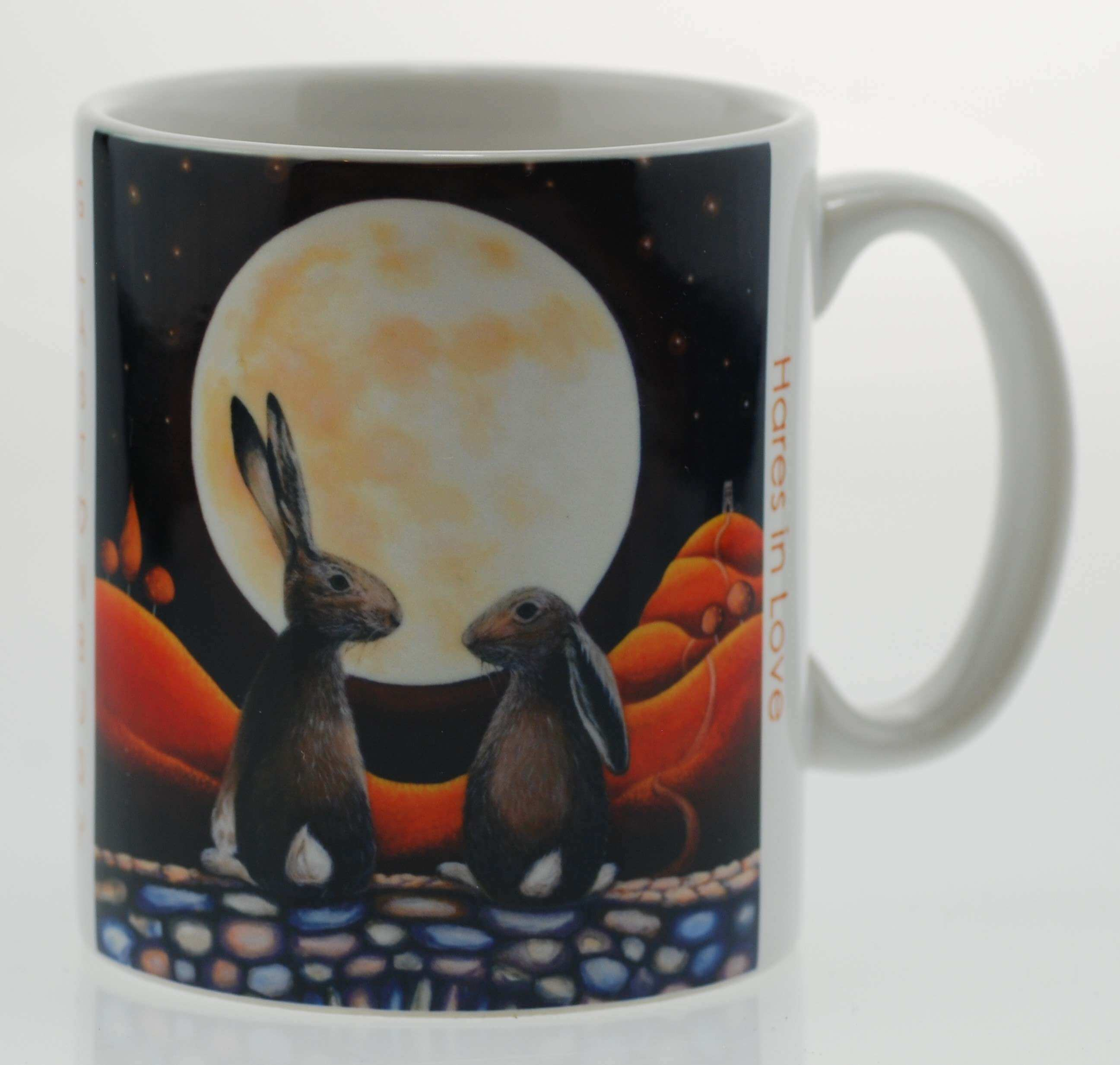 Hares in Love Mug