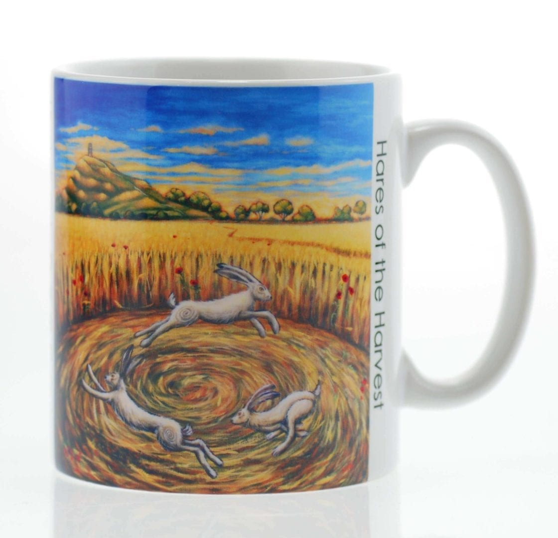 Hares of the Harvest Mug