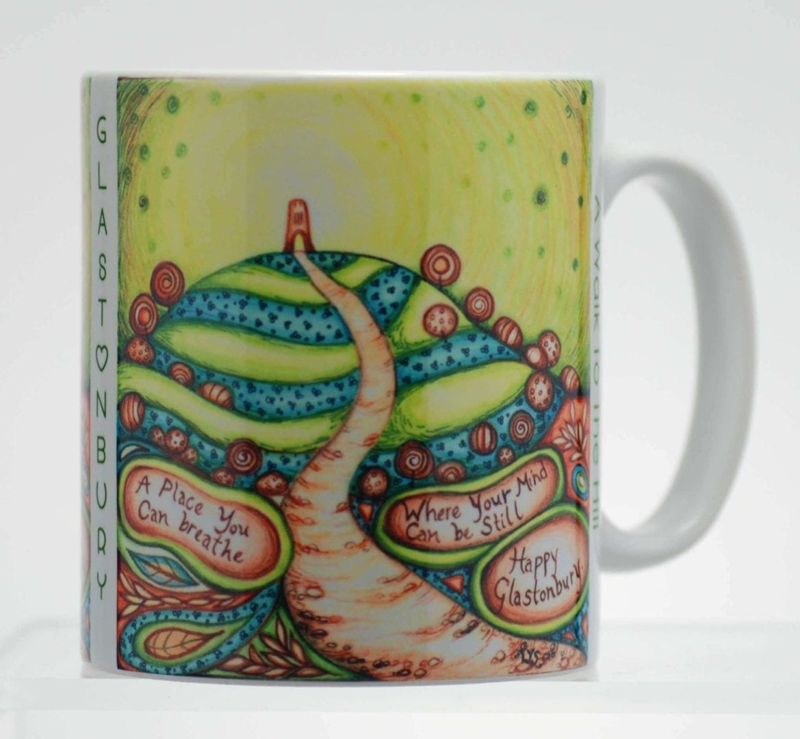 A Walk to the Hill Mug