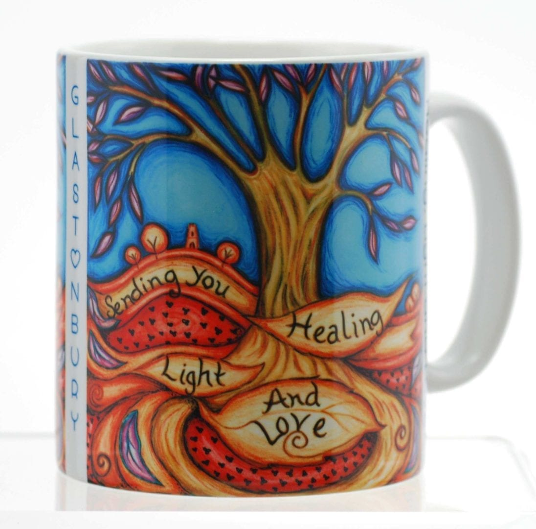 Healing Light & Love Mug