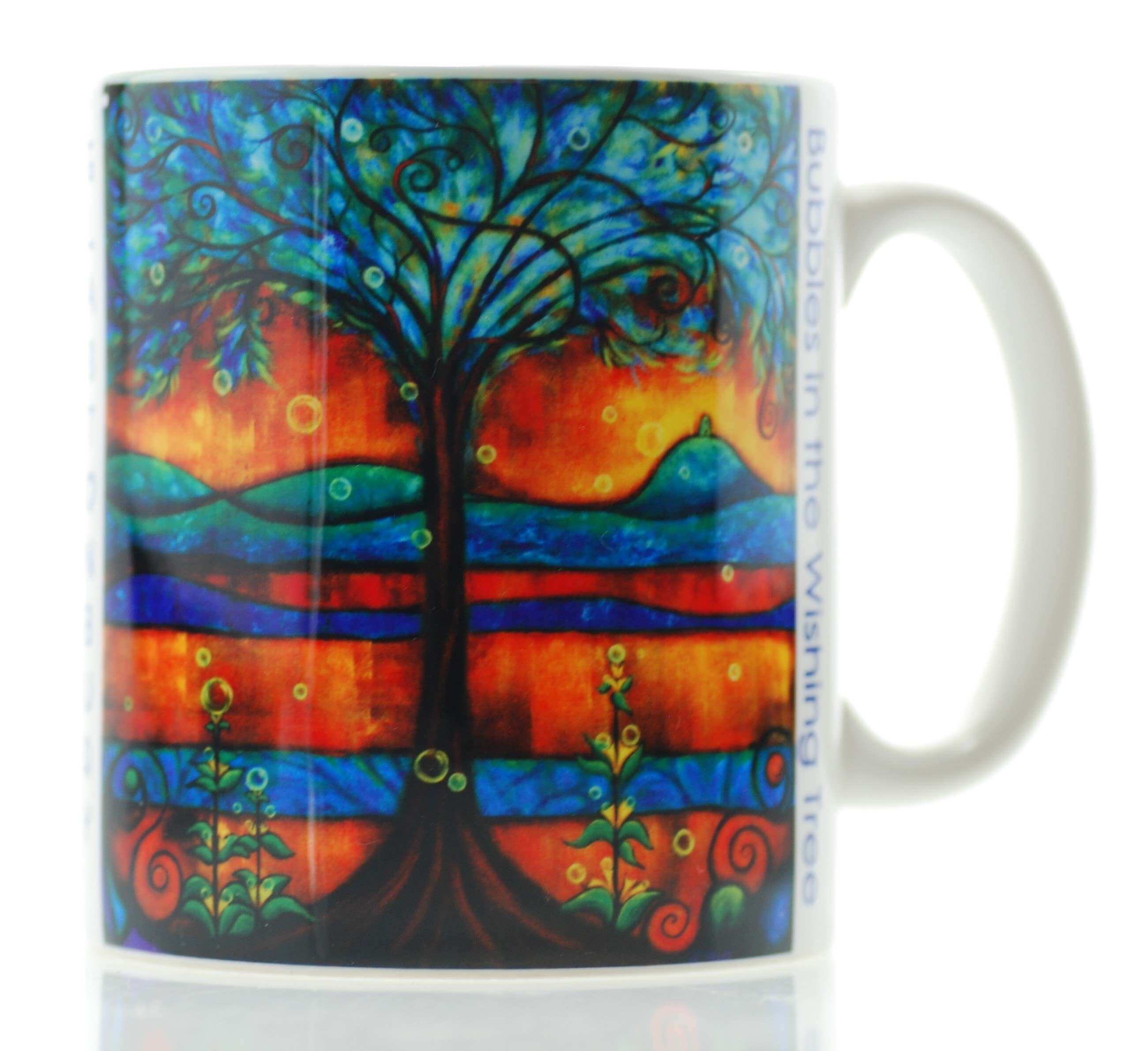 Bubbles in the Wishing Tree Mug