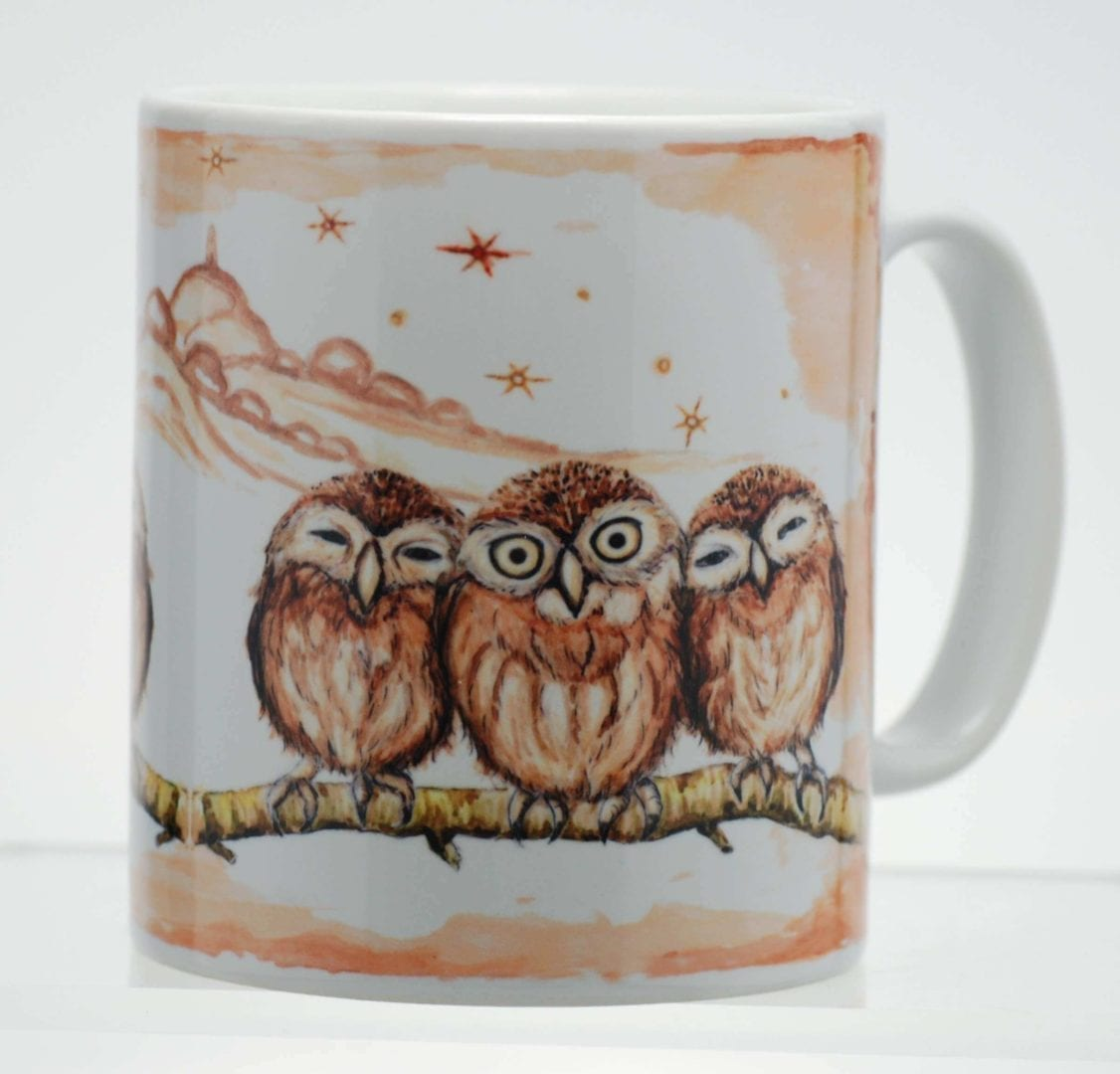 Country Owls Mug