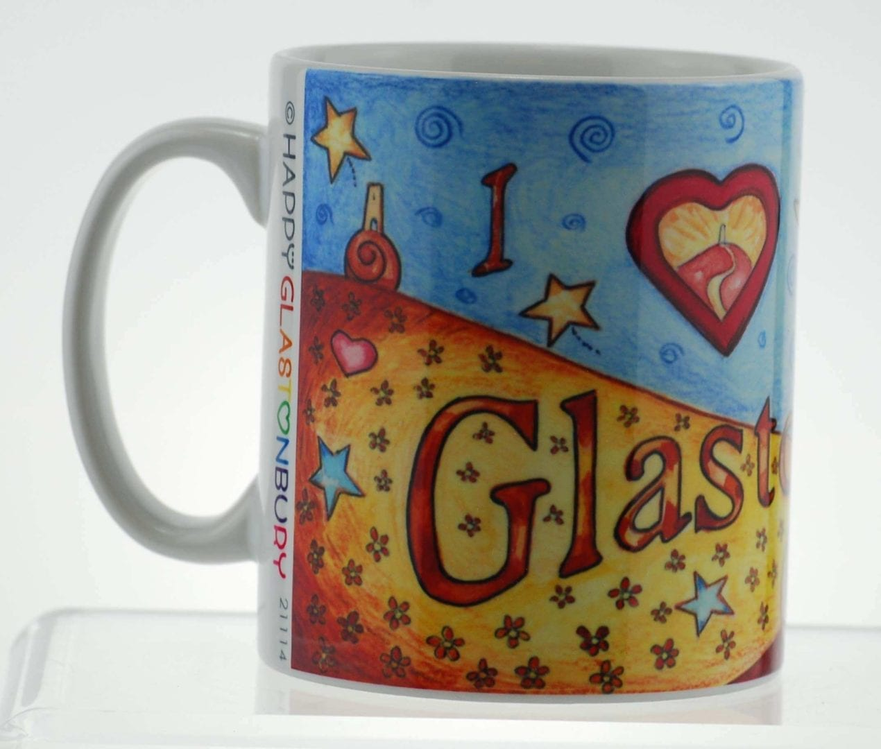 I love Glastonbury Mug