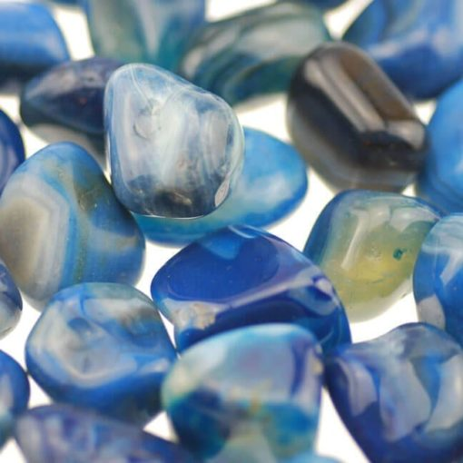 2737 blue banded agate