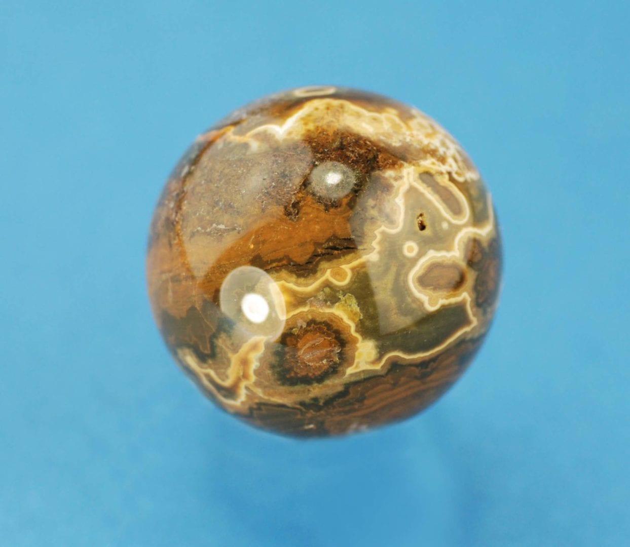 Orbicular Jasper Sphere 151g