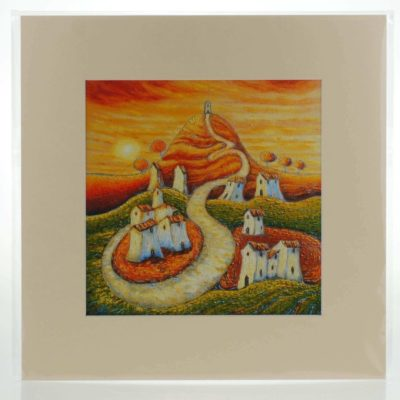 Summer Solstice Mounted Print