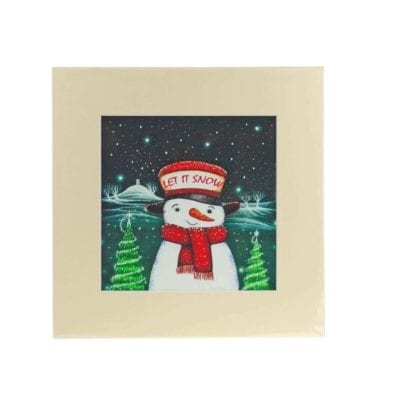Let It Snow Print