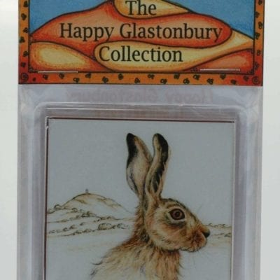 The Magical Glastonbury Hare Magnet