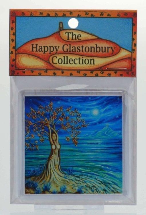 Glastonbury Goddess Magnet