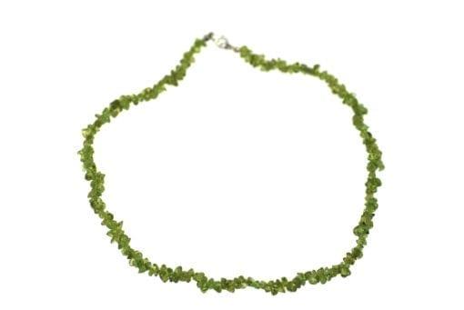Peridot Chip Necklace