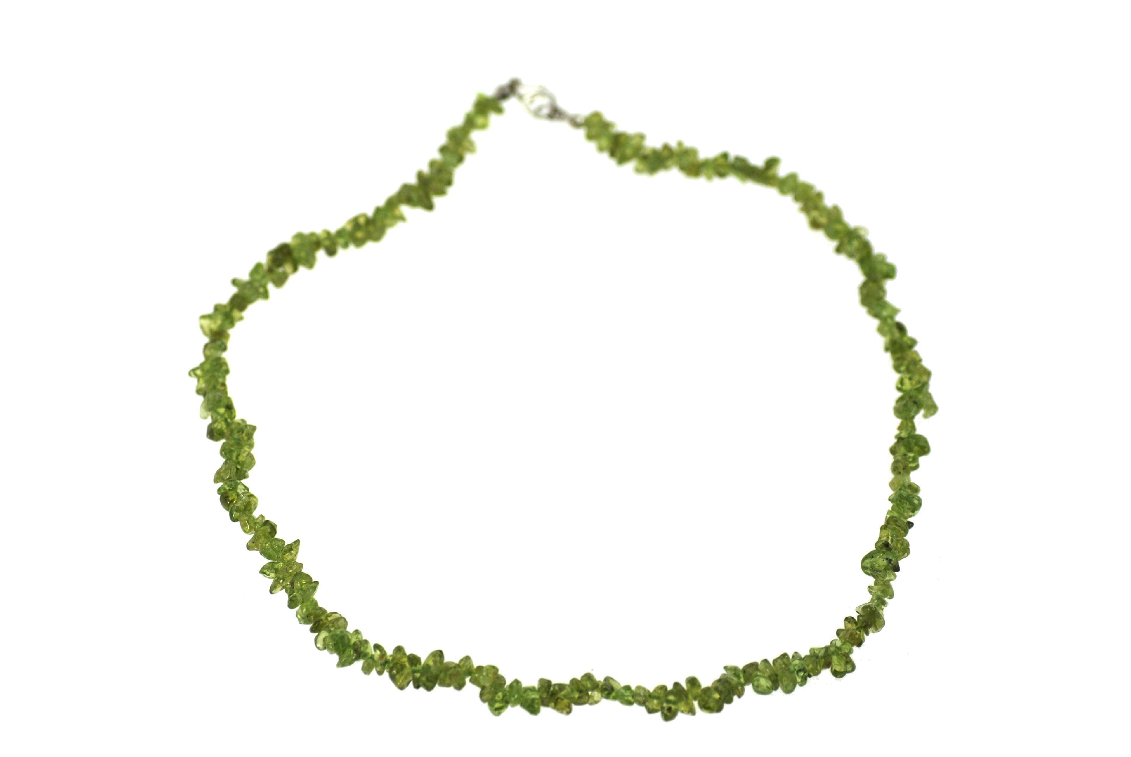 Peridot Chip Necklace