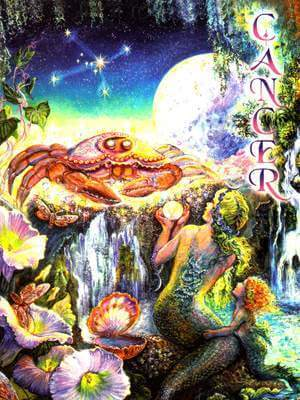 Josephine Wall Cancer Card