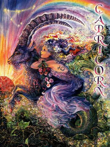 Josephine Wall Capricorn Card