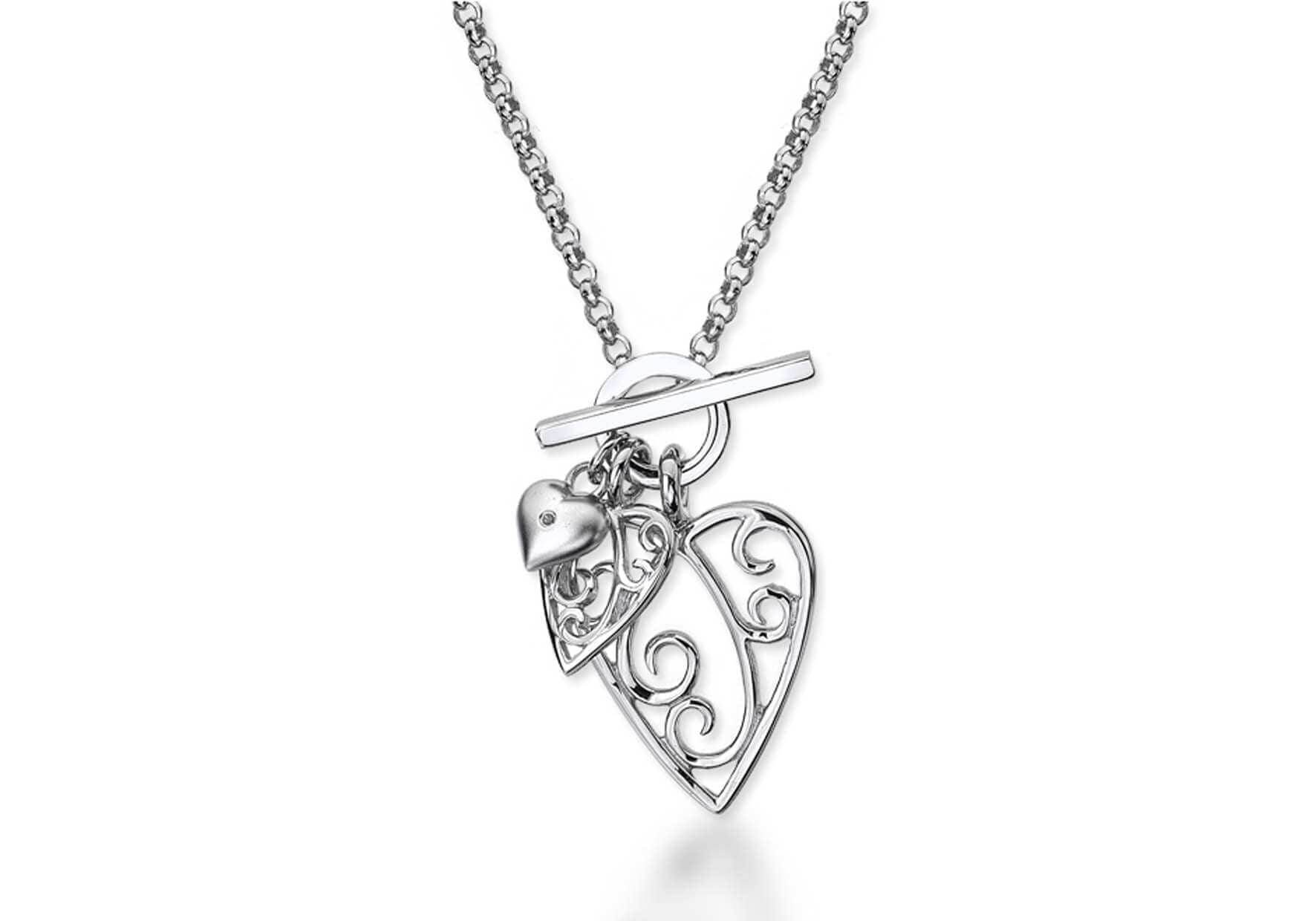 Lily & Lotty Sterling Silver & Diamond Necklace