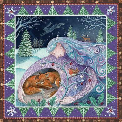 Winter Mother Protection Card by Wendy Andrew