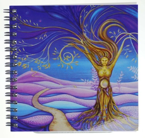 Wisdom of the Goddess Notebook