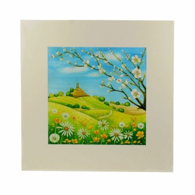 Image shows spring blossom promise print