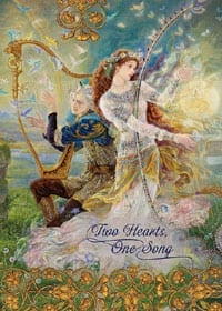 two hearts one song card