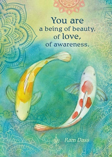 you are a being of beauty card