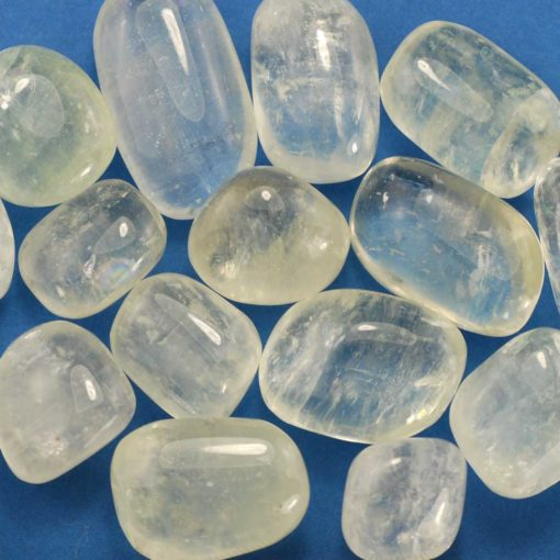 Tumbled Clear Calcite