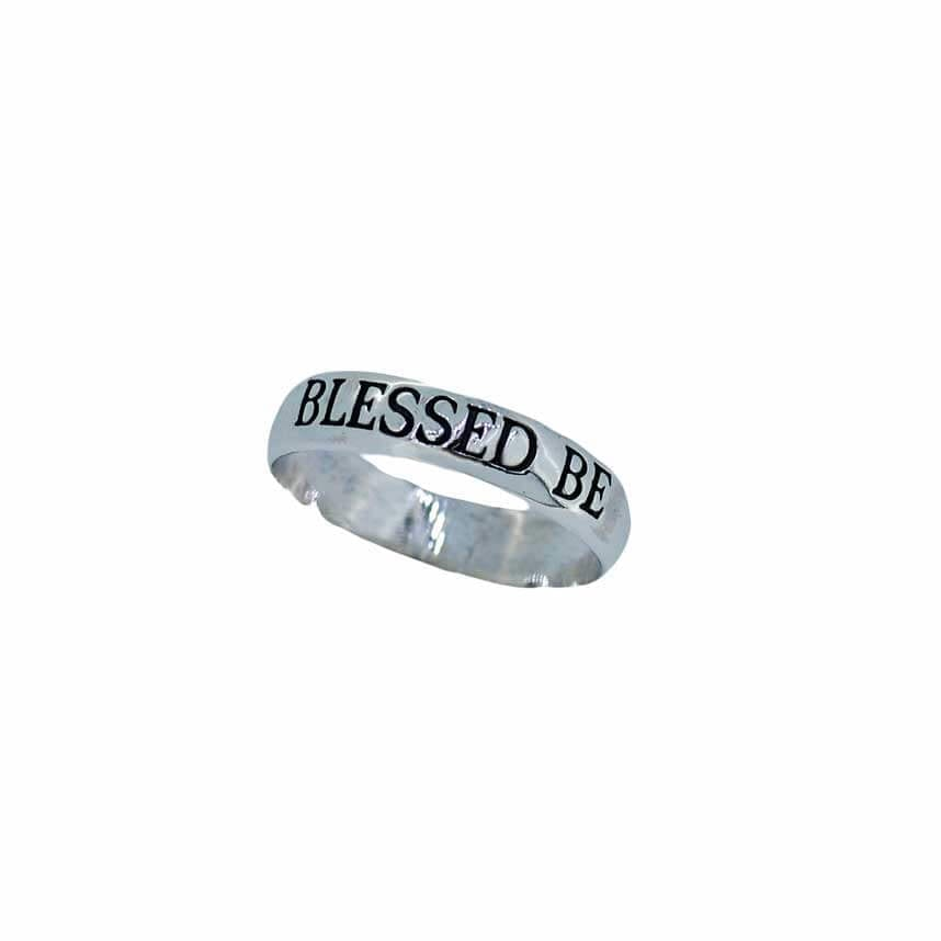 Blessed Be Engraved Band