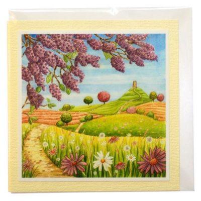 Spring Lilac Card