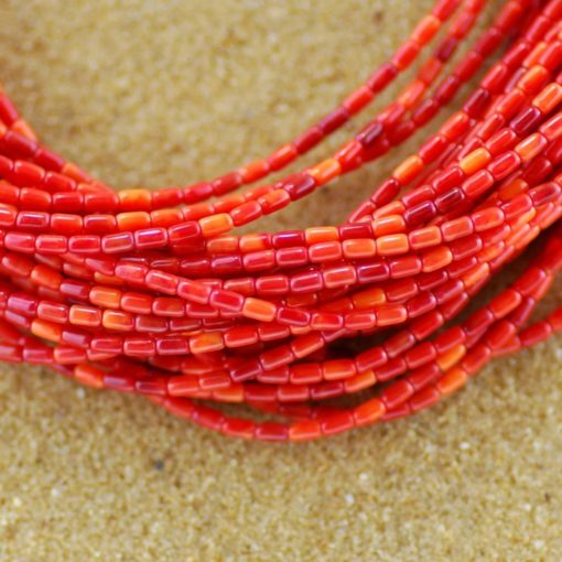 Spiny Oyster 30 Strand Necklace