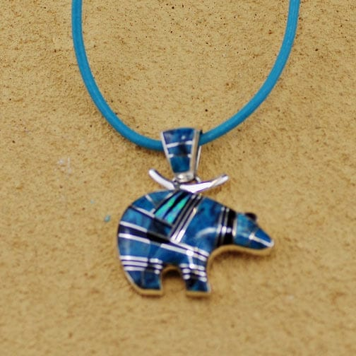C. Webster Zuni Bear Pendant