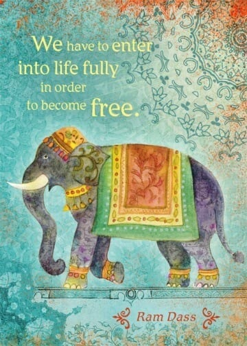 We Have To Enter Into Life Fully Card