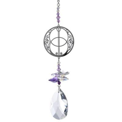 Crystal Fantasy - Vesica Pisces - Purple