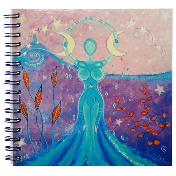 the avalon goddess notebook 55161