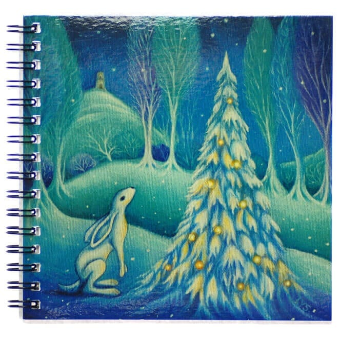 Dreaming The Winters Solstice Notebook