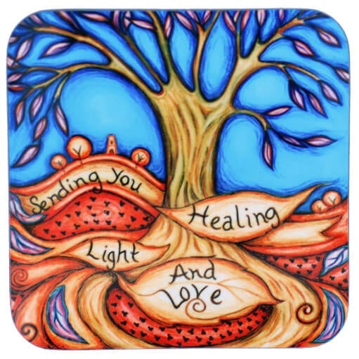 Healing Light & Love Coaster 31078
