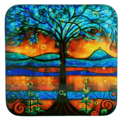 Bubbles in the Wishing Tree Coaster 31080